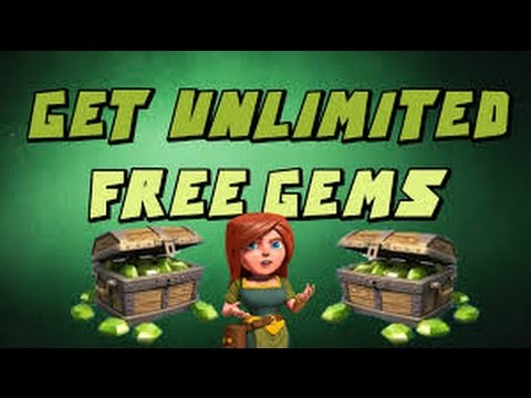 Clash Of Clans - How to get unlimited gems for FREE!!! No Hacks or Mods