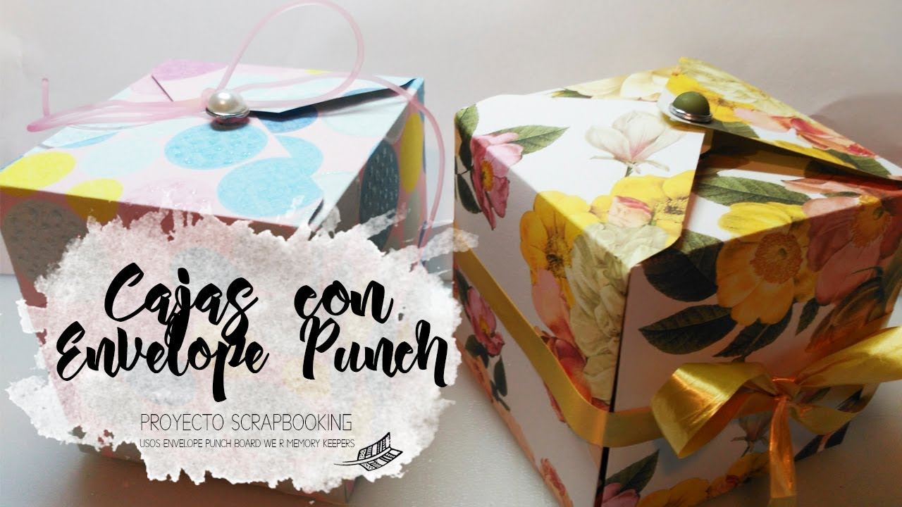 We R Memory Keepers Punch Board-Caja de Regalo-Board