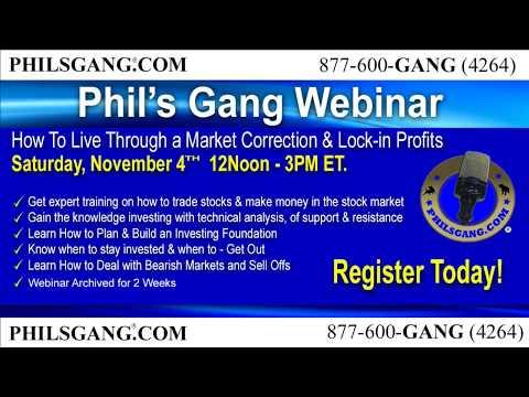 Phil's Gang LIVE Radio Show  10/25/17