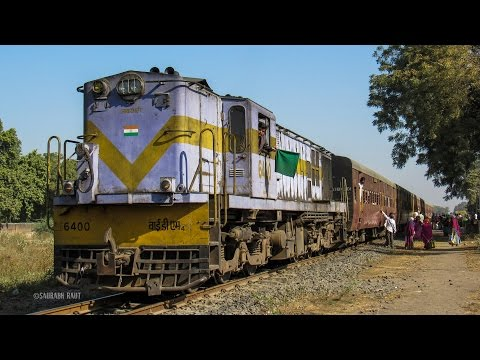 Memorable Journey on-board Meter Gauge train of Indian Railways.! Soon to be a part of History..!!