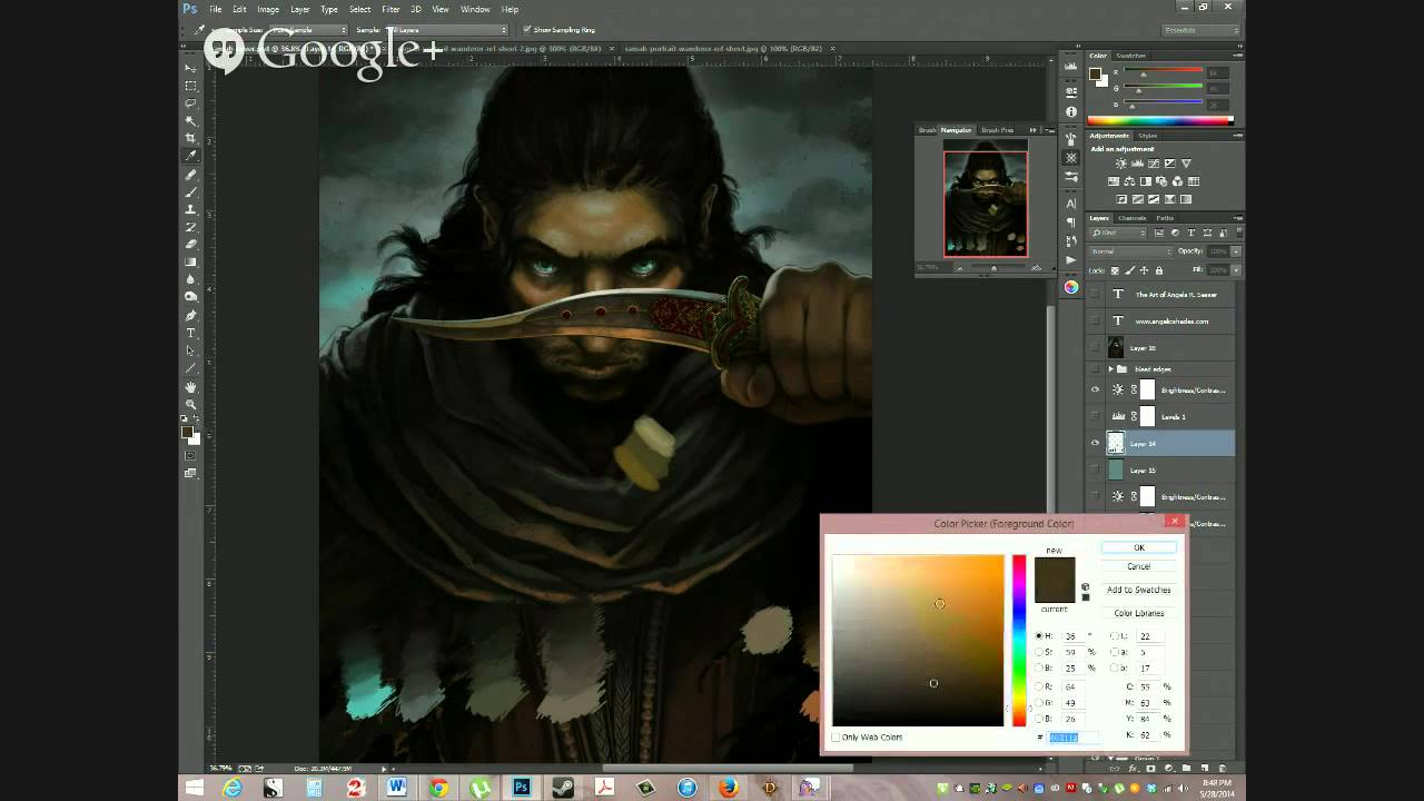 2nd May Giveaway/Q&A – Photoshop Tips, Digital Painting Workspace, and Cintiq Advice