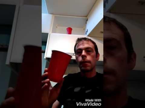 Plastic cup trick shots