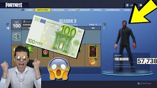 ALLE BATLLE PASS 3 TIERS KOPEN😱! (13.500 V-BUCKS💰) FORTNITE BATTLE ROYALE (PS4 🎮)