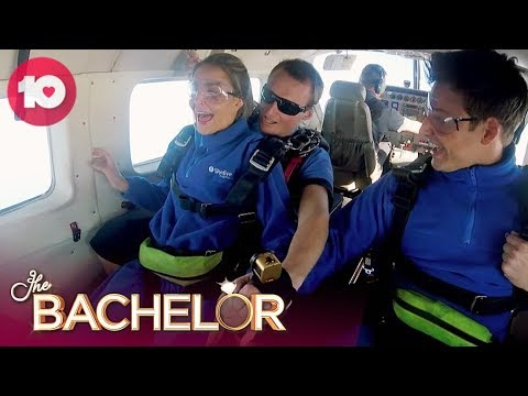 The Skydiving Date Gives Kristen The Fear | The Bachelorette Australia