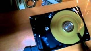 Hard disk to grinder/sander