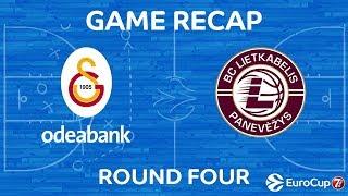 Highlights: Galatasaray Odeabank Istanbul - Lietkabelis Panevezys