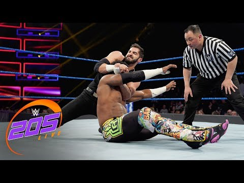 Cedric Alexander vs. Ariya Daivari: WWE 205 Live, March 26, 2019