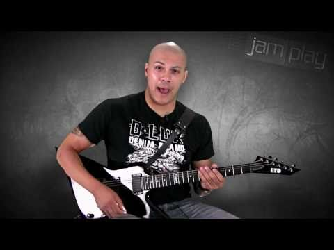 """""""To The Fallen Hero"""" Guitar Lesson By Doc Coyle Of God Forbid"""