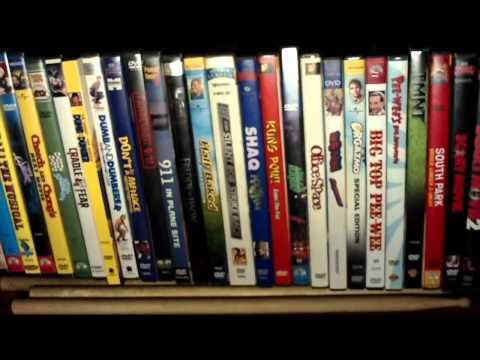 My DVD and Blu-Ray Collection...