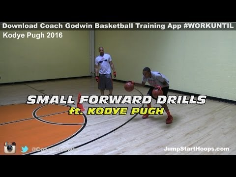 Small Forward Drills ft. Kodye Pugh - Coach Godwin Ep: 123