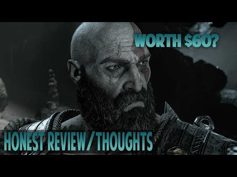 MY HONEST OPINION ABOUT  GOD OF WAR |  GOD OF WAR SPOILER FREE REVIEW