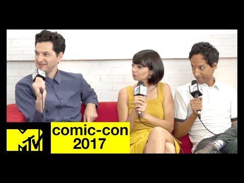 Ben Schwartz, Danny Pudi, & Kate Micucci on 'DuckTales' | Comic-Con 2017 | MTV