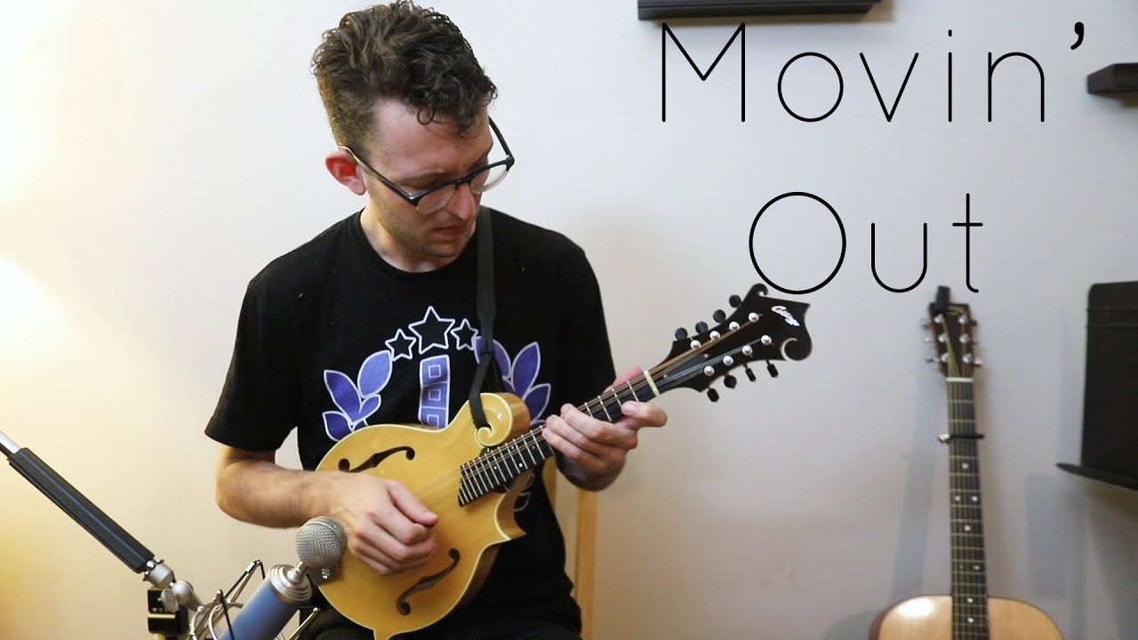 Movin Out Anthonys Song Billy Joel Solo Mandolin Youtube