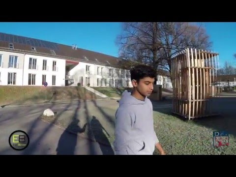 Indian football player and his live in Germany