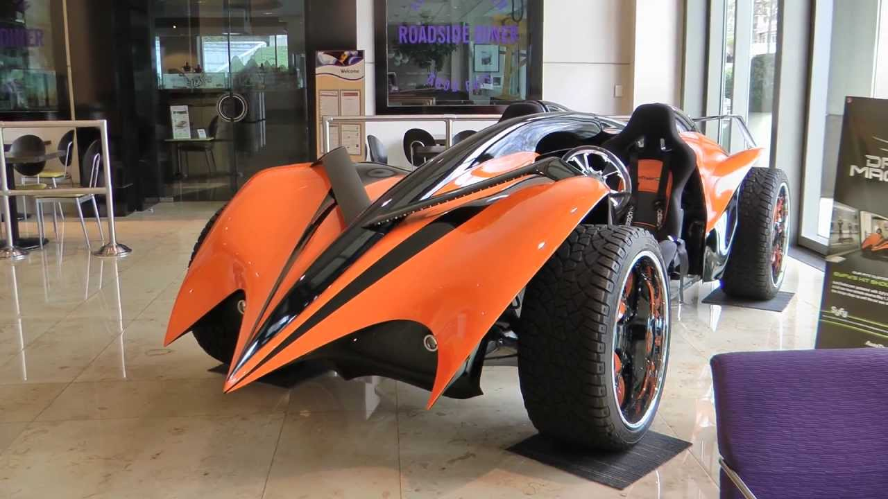 Parker Brothers Concepts - AutoTrader Electric Car - Syfy\'s \