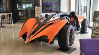 Parker Brothers Concepts - AutoTrader Electric Car - Syfy