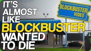 It's Almost Like Blockbuster Wanted to Die