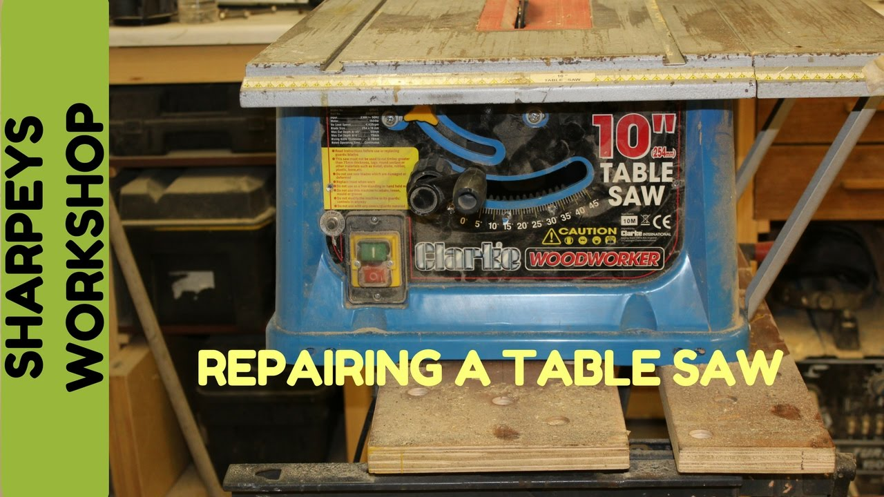 Replacing brushes in a table saw clarke youtube replacing brushes in a table saw clarke greentooth Images