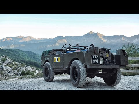 Portuguese Men Of Faff Part 2. Land Rover Series One Adventure.