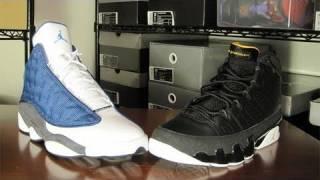 "#6 (2) Air Jordan XIII/13 ""Flints"" vs. (15) Air Jordan IX/9 ""Citrus"" (Round 1)"