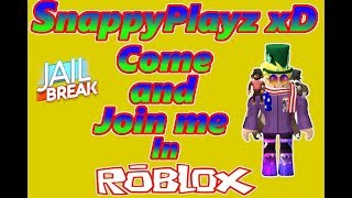 Roblox JailBreak 1M CASH HAS NOW GONE! 😱 Come and Join me! | SnappyPlayzXD | 🔴 LIVE