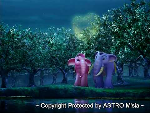 Jumbo Gajah Biru Opening Song featuring Mila Jirin and Akim in Dol Digital stereo