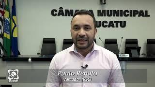 Feliz Natal 2018 do vereador Paulo Renato