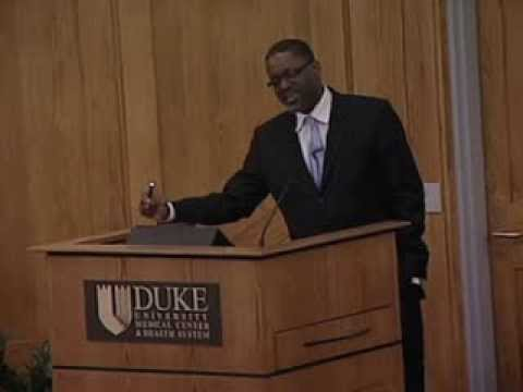 Director of National Heart, Lung and Blood Institute speaks at Duke University Medical Center