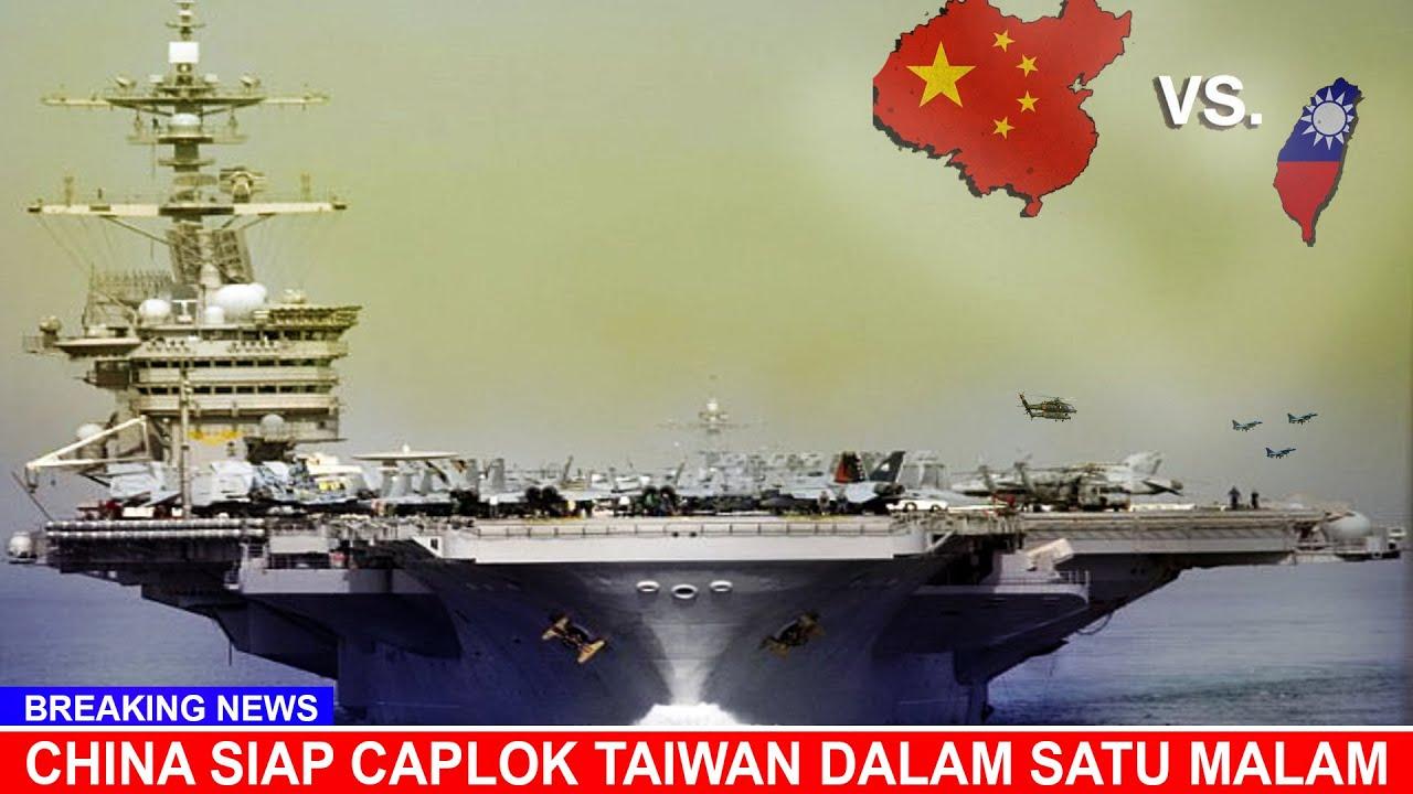 NEWS. (13/08/2020) Amerika Mustahil Bisa Selamatkan Taiwan Dari Cengkraman China