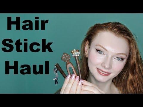 Hair Stick Haul