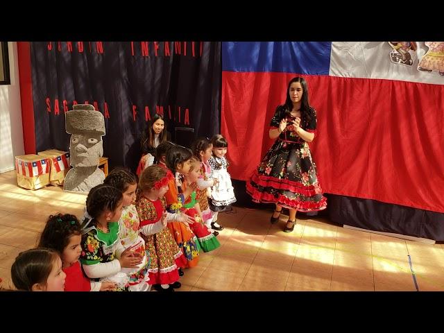 Baile La Resbalosa 2018, Sala verde tarde.