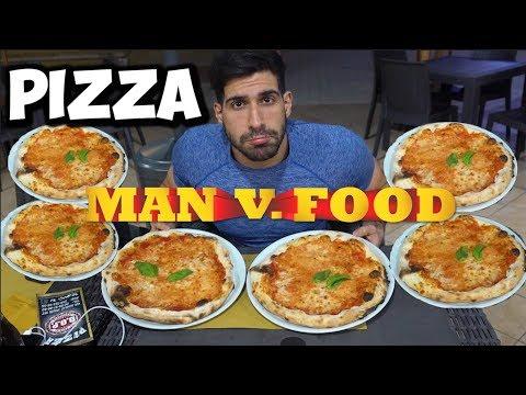 10+ PIZZA - Man Vs Food