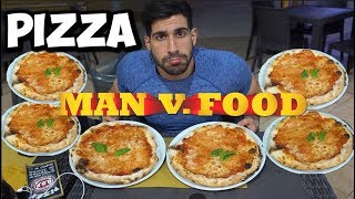 10+ PIZZA - Man Vs Food