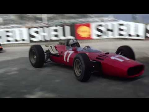 Grand Prix 1966 - Introduction scene