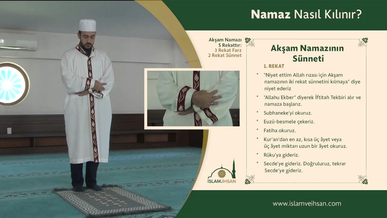 Aksam Namazi Nasil Kilinir