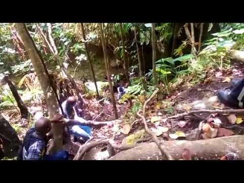 6th Hidden Waterfall on Nevis Peak