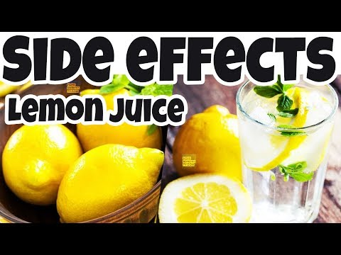 Side Effects Of LEMON Juice You Didn't KNOW About. LEMON Peels May Cause SERIOUS Health Problems