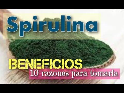 Spirulina Beneficios: 10 Razones probadas para usar este superalimento