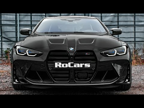 2021 BMW M4 Competition - Sound, Interior and Exterior in detail