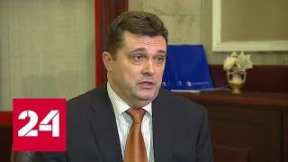 Смотреть видео Владимир Соловьев: украинские коллеги готовы к общению - Россия 24 онлайн