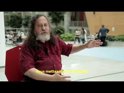 Rencontre avec Richard Stallman le pape du logiciel libre