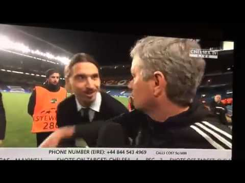 Download Ibrahimovic wishes Mourinho 'good luck' in the Champions League 2014