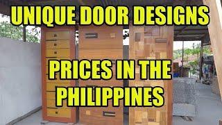 Unique Door Designs Prices In The Philippines Youtube