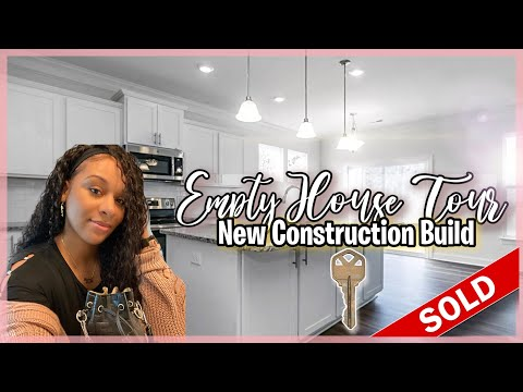 I Bought My First Home! 2021 EMPTY HOUSE TOUR: NEW CONSTRUCTION & BUILD [5BR & 3 BATH]