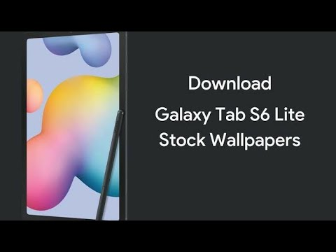 Samsung Galaxy Tab S6 Lite Stock Wallpapers Fhd With Download Link Youtube