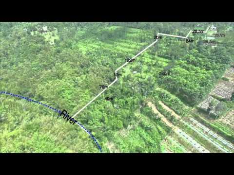 Land Survey at Payangan Ubud by BALI DRONE PHOTOGRAPHY
