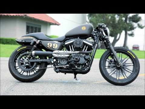 RSD Tracker 2 into 1 Harley Softail Exhaust - Exhaust Systems