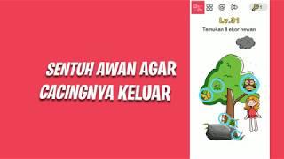 Panduan Brain Out Level 31 sampai 45 Bahasa Indonesia