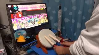 太鼓の達人WiiU(特盛り)千本桜裏 ローテーションフル(二人) thumbnail