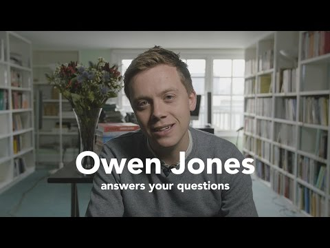 Verso Voices: Owen Jones answers your questions